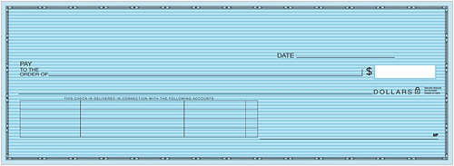 Safety Blue Accounts Payable Check