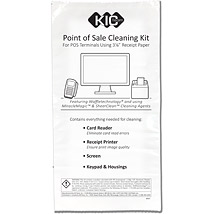 "POS Cleaning Kit - for 3-1/8"" receipt paper"